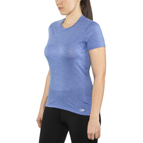Icebreaker Amplify Low Crewe T-shirt Dames, cove heather